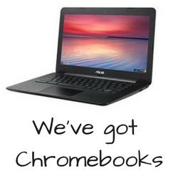 We've got Chromebooks highlight