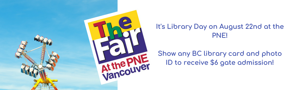 Library Day at the PNE 2018